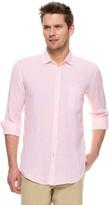 J.Mclaughlin Gramercy Linen Classic Fit Shirt