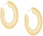 Wouters & Hendrix My Favourite filigree hoop earrings