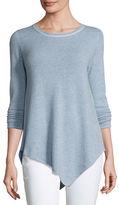 Joie Tambrel Cashmere Asymmetric Sweater
