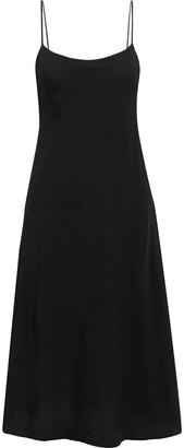 The Row Gibbons Crepe Midi Slip Dress