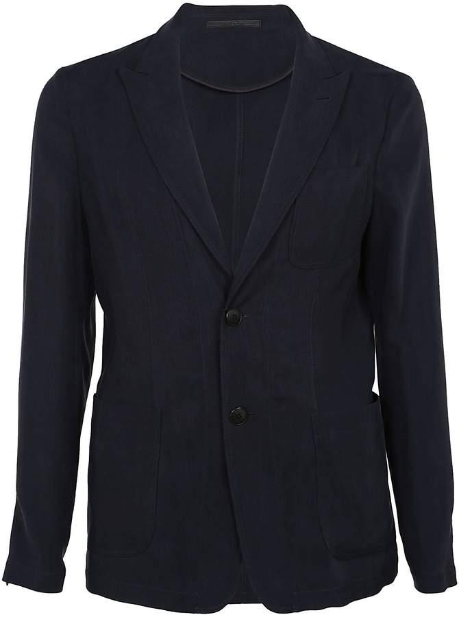 Giorgio Armani Long Sleeved Jersey Blazer