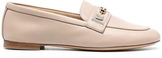 Salvatore Ferragamo Gancini moccasin loafers