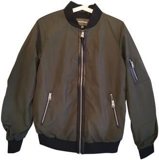 Mackage Khaki Leather Jacket for Women