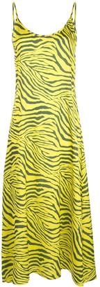 Apparis Zebra Print Dress