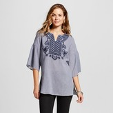 Merona Women's Embroidered Tunic