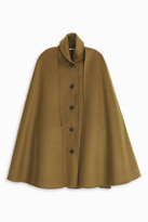 Rosetta Getty Face Cape Coat