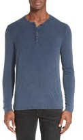 ATM Anthony Thomas Melillo Men's Sunbleached Henley