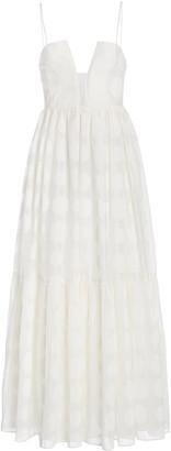 Ulla Johnson Aimie Polka-Dot Cotton-Silk Dress