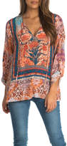 Tolani Virginia Peasant Style Blouse