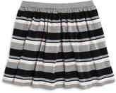 Kate Spade Girls' Striped Ponte Knit Skirt