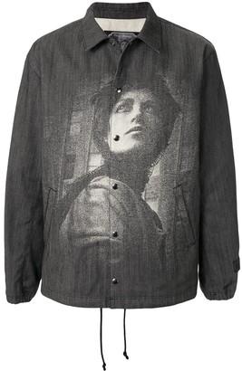 Undercover x Cindy Sherman printed shirt jacket