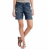 """LOFT Boyfriend Denim Shorts in Light Summer Wash with 10 1/2"""" Inseam"""
