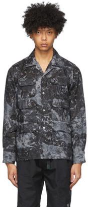 South2 West8 Grey Six Pocket Classic Shirt