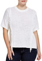 MICHAEL Michael Kors Fringed Sweater