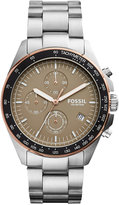 Fossil Men's Chronograph Sport 54 Stainless Steel Bracelet Watch 44mm CH3036