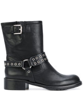 RED Valentino eyelet boots - women - Leather/rubber - 36