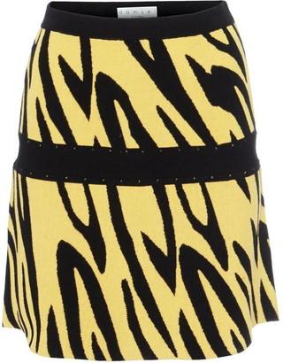 Damsel in a Dress Lia Zebra Knit Skirt