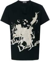 Yohji Yamamoto splash print T-shirt