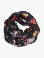 Lucky Brand Exploed Floral Loop Scarf