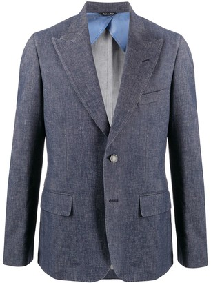 Reveres 1949 Long Sleeve Buttoned Blazer