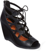 Mia Girl Cachi Lace-Up Wedges
