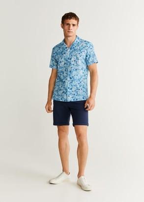 MANGO Tie-dye print shirt