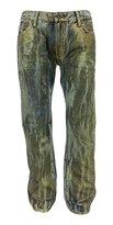 Robins Jean Robin's Jean Men's w/ Crystal Swarovski & Gold Jeans D50329-906G-38 36