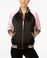 Say What ? Juniors' San Francisco Graphic Bomber Jacket