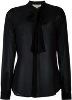 MICHAEL Michael Kors pussybow blouse