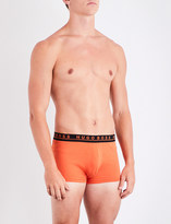 BOSS Pack of three regular-fit stretch-cotton trunks