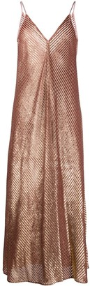 Forte Forte Metallic Slip Dress