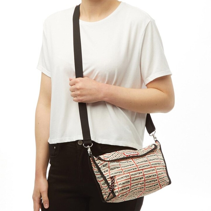 Thumbnail for your product : Hunter Womens Original Packable Crossbody Bag Sonic Logo Print