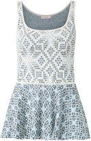 Cecilia Prado knitted tank - women - Acrylic/Polyamide/Viscose - P
