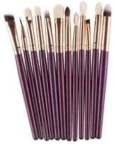BBBire 12Pcs Cosmetic Brush Makeup Brush Sets Kits Tools