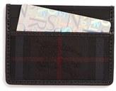 Burberry Men's Sandon Horseferry Check Card Case - Black