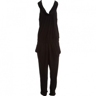 Hotel Particulier Black Viscose Jumpsuits