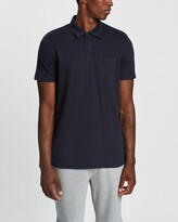 Thumbnail for your product : Sunspel Men's Navy Polo Shirts - Short Sleeve Riviera Polo - Size L at The Iconic