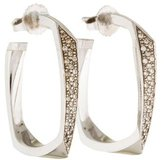 Tiffany & Co. 18K Diamond Torque Earrings