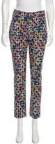 Erdem Floral Print Skinny Pants