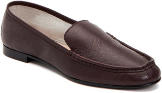 Taryn Rose Diana Tumbled Leather Weatherproof Loafer