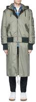Public School Extended hem padded bomber jacket