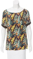 Vena Cava Silk Floral Top