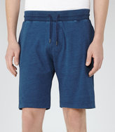 Reiss Reiss Maldive - Jersey Shorts In Blue