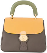 Burberry colour block tote - women - Leather - One Size