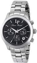 Lucien Piccard Women's LP-12914-11 Coimbra Analog Display Japanese Quartz Silver Watch