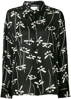 Chanel Pre Owned 1998 Printed Shirt