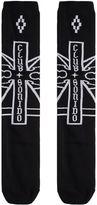 Marcelo Burlon County of Milan Black Ramon Long Socks