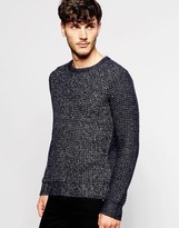 Antony Morato Twisted Yarns Knitted Sweater