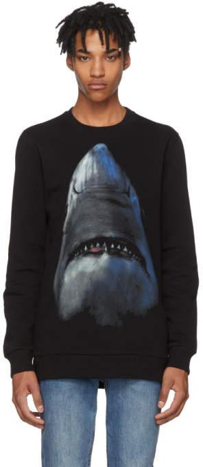 Givenchy Black Shark Sweatshirt