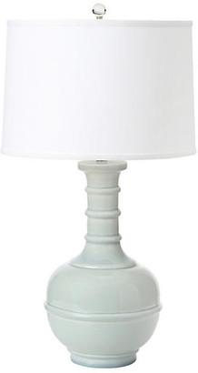 Westwood Table Lamp - Pale Blue - BURKE & OATES